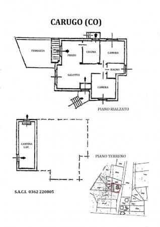 Casa indipendente in vendita a Carugo, Con giardino, 673 mq - Foto 4