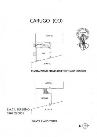 Casa indipendente in vendita a Carugo, Con giardino, 673 mq - Foto 2