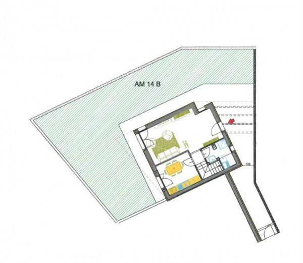 Villetta a schiera in vendita a Melegnano, Residenziale A 20 Minuti Da Melegnano, Con giardino, 176 mq - Foto 6