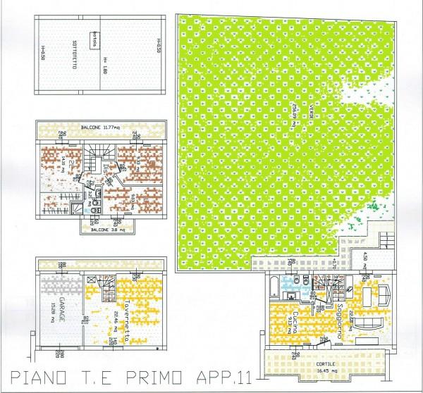 Appartamento in vendita a Forlì, Villanova, Con giardino, 103 mq - Foto 2