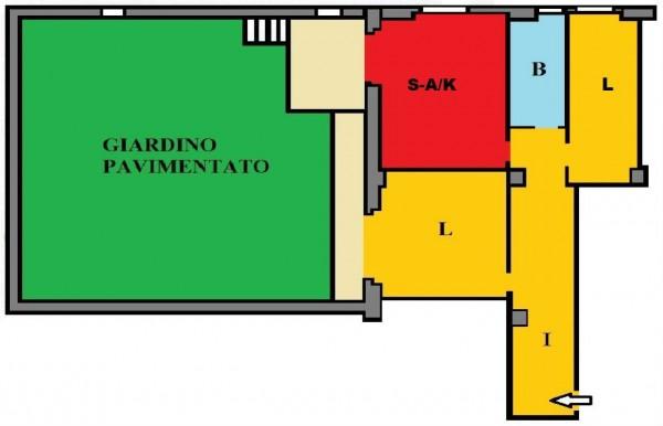 Appartamento in vendita a Roma, Giulio Agricola, Con giardino, 75 mq - Foto 2