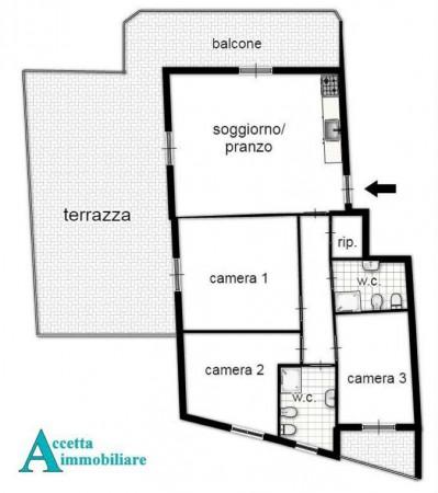 Appartamento in vendita a Taranto, Residenziale, 95 mq - Foto 2