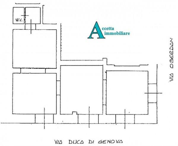 Locale Commerciale  in affitto a Taranto, Centrale, 85 mq - Foto 2