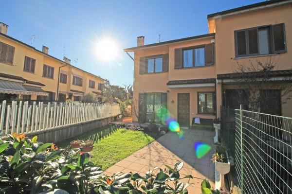 Villa in vendita a Cassano d'Adda, Arckstudio, Con giardino, 204 mq - Foto 17