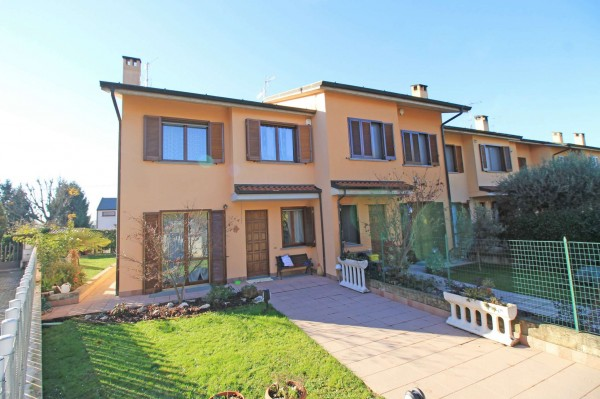 Villa in vendita a Cassano d'Adda, Arckstudio, Con giardino, 204 mq - Foto 4