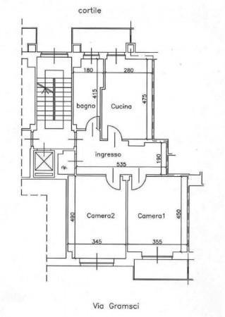 Appartamento in vendita a Moncalieri, B.go San Pietro, 80 mq - Foto 2