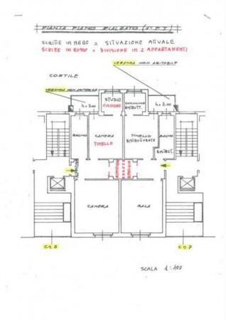 Appartamento in vendita a Moncalieri, Borgo San Pietro, Con giardino, 124 mq - Foto 18