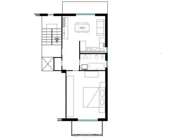 Appartamento in vendita a Moncalieri, Borgo Mercato, Con giardino, 60 mq - Foto 12