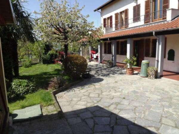 Villa in vendita a Moncalieri, Nasi, Con giardino, 210 mq - Foto 1