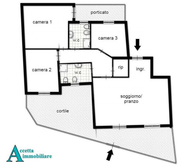 Appartamento in vendita a Taranto, Residenziale, Con giardino, 100 mq - Foto 2