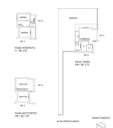 Casa indipendente in vendita a Roma, Borghesiana/valle Fiorita/due Leoni, Con giardino, 125 mq - Foto 2