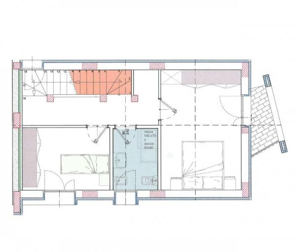 Villetta a schiera in vendita a Melegnano, Residenziale A 20 Minuti Da Melegnano, Con giardino, 169 mq - Foto 3
