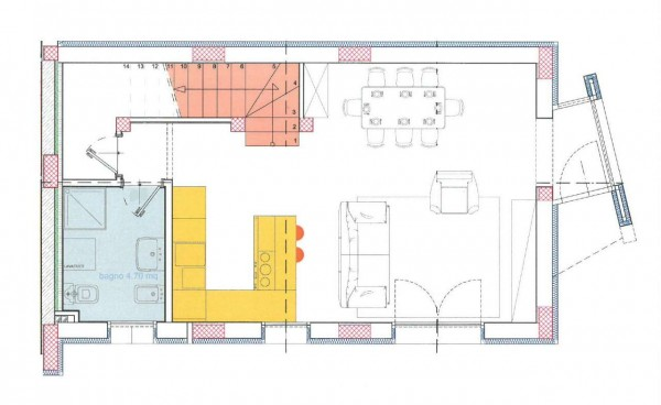 Villetta a schiera in vendita a Melegnano, Residenziale A 20 Minuti Da Melegnano, Con giardino, 169 mq - Foto 4