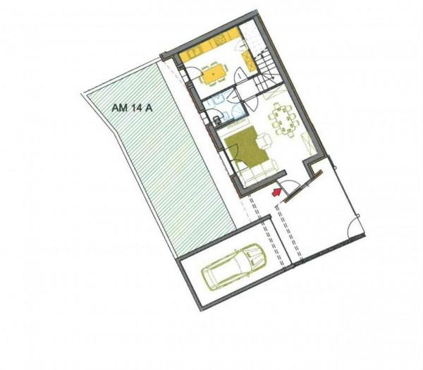 Villetta a schiera in vendita a Borghetto Lodigiano, Residenziale, Con giardino, 169 mq - Foto 5