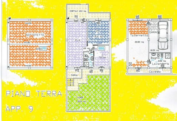 Appartamento in vendita a Forlì, Villanova, Con giardino, 59 mq
