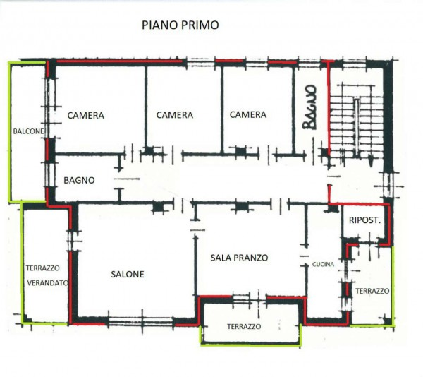 Appartamento in vendita a La Cassa, Regione Converso, 160 mq - Foto 2