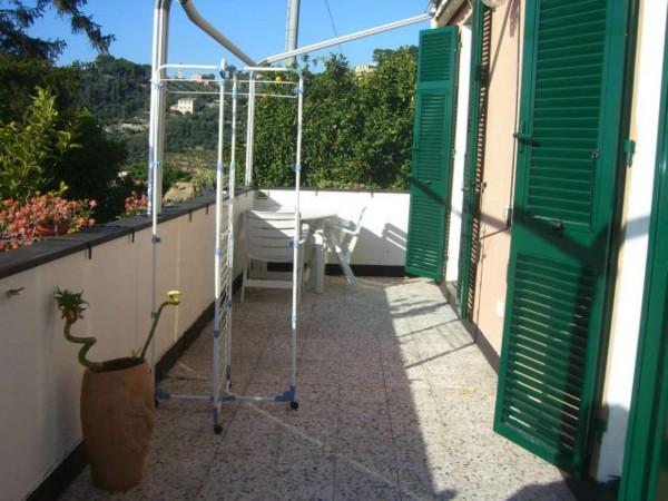 Appartamento in vendita a Zoagli, Con giardino, 80 mq - Foto 12