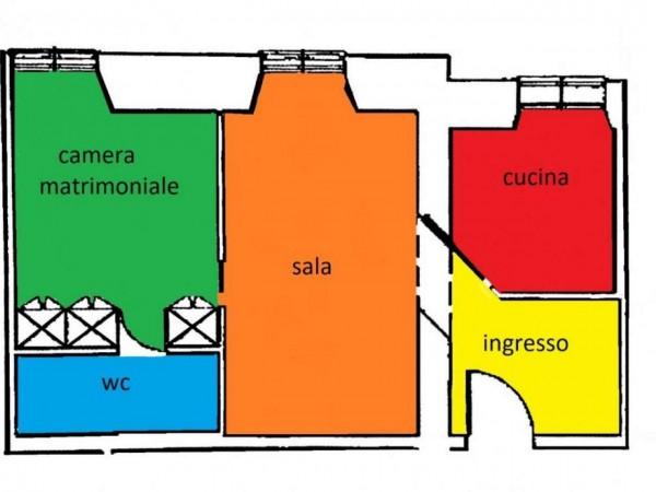 Appartamento in vendita a Roma, Piazza Del Popolo, 55 mq - Foto 2