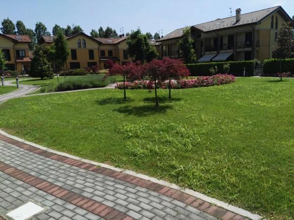 Appartamento in affitto a Cusago, Semi Centro, Con giardino, 130 mq - Foto 1