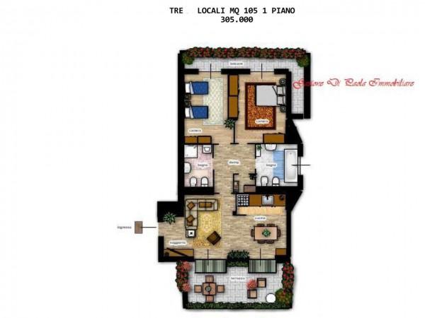 Appartamento in vendita a Milano, Con giardino, 104 mq - Foto 13