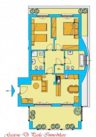 Appartamento in vendita a Milano, Con giardino, 104 mq - Foto 2