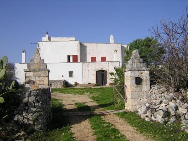 Rustico/Casale in vendita a Conversano, Contrada Foggiali, Con giardino, 400 mq - Foto 16