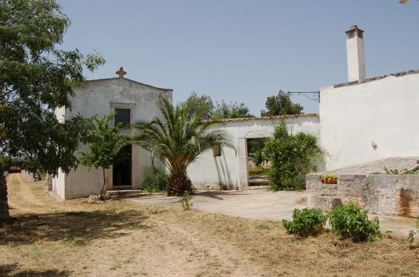 Rustico/Casale in vendita a Conversano, Contrada Foggiali, Con giardino, 400 mq - Foto 15
