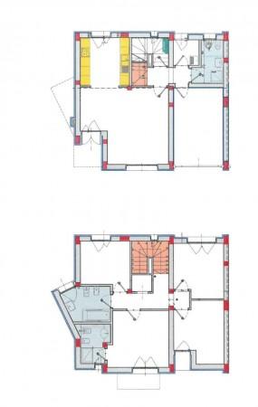 Villa in vendita a Borghetto Lodigiano, Residenziale, Con giardino, 175 mq - Foto 2