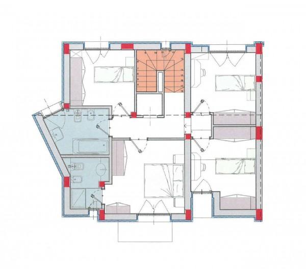 Villa in vendita a Borghetto Lodigiano, Residenziale, Con giardino, 175 mq - Foto 4