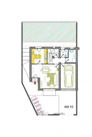 Villetta a schiera in vendita a Borghetto Lodigiano, Residenziale, Con giardino, 174 mq - Foto 2