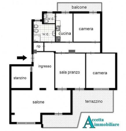 Appartamento in vendita a Taranto, Residenziale, 150 mq - Foto 2