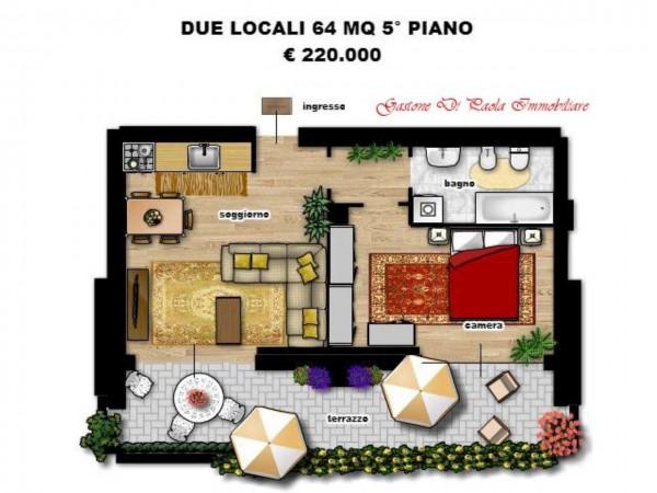 Appartamento in vendita a Milano, Precotto, Con giardino, 92 mq - Foto 12