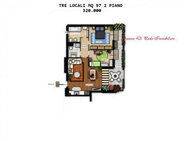 Appartamento in vendita a Milano, Precotto, Con giardino, 92 mq - Foto 14
