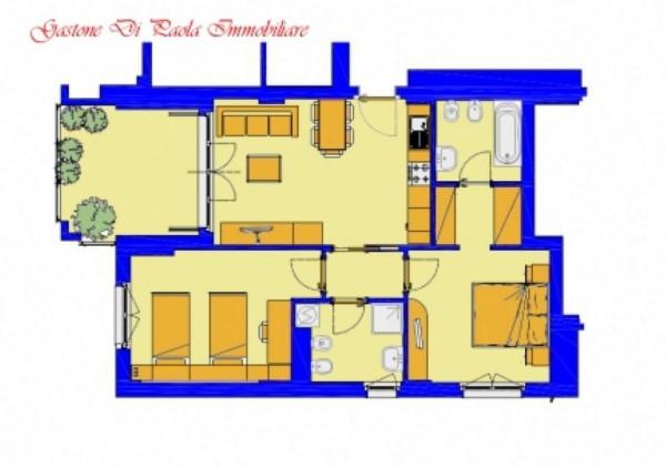 Appartamento in vendita a Milano, Precotto, Con giardino, 92 mq - Foto 2