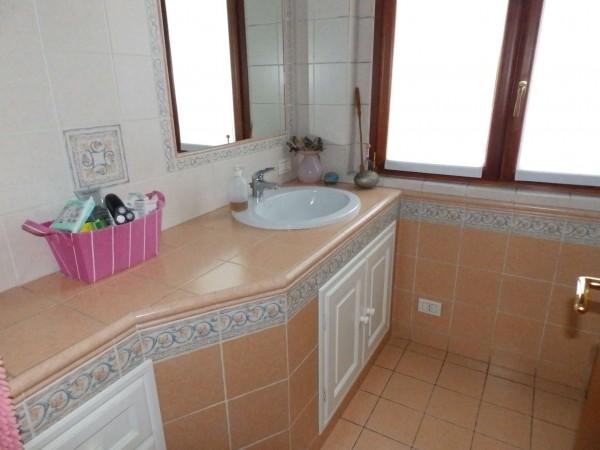 Villetta a schiera in vendita a Mariano Comense, Mercato, Con giardino, 220 mq - Foto 16