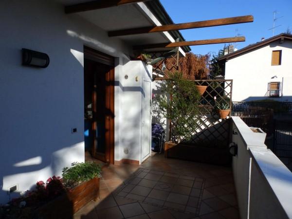 Villetta a schiera in vendita a Mariano Comense, Mercato, Con giardino, 220 mq - Foto 17