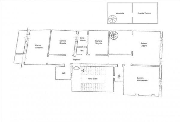 Appartamento in vendita a Siena, 126 mq - Foto 2