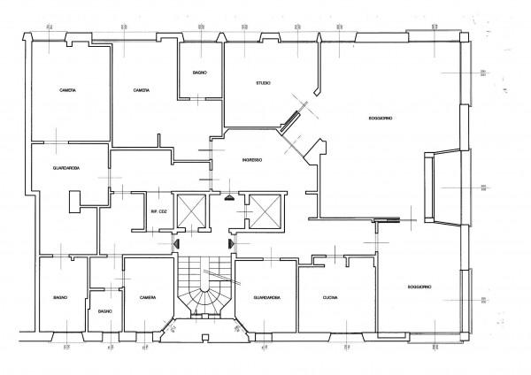 Appartamento in affitto a Milano, Ad.ze Corso Vercelli, Con giardino, 250 mq - Foto 6