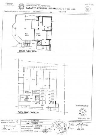 Appartamento in vendita a Gallarate, Arredato, con giardino, 90 mq - Foto 3