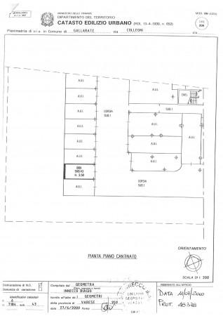 Appartamento in vendita a Gallarate, Arredato, con giardino, 90 mq - Foto 2