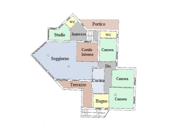 Villa in vendita a Spello, Frazione, Con giardino, 380 mq - Foto 15