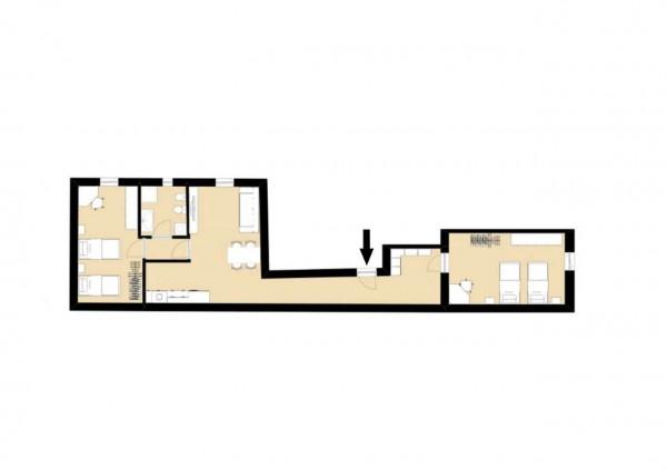 Appartamento in vendita a Milano, Bovisa, Arredato, 90 mq - Foto 2