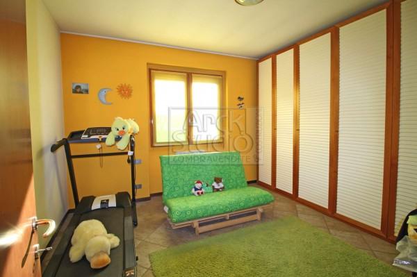 Villa in vendita a Pozzuolo Martesana, Centrale, Con giardino, 175 mq - Foto 12