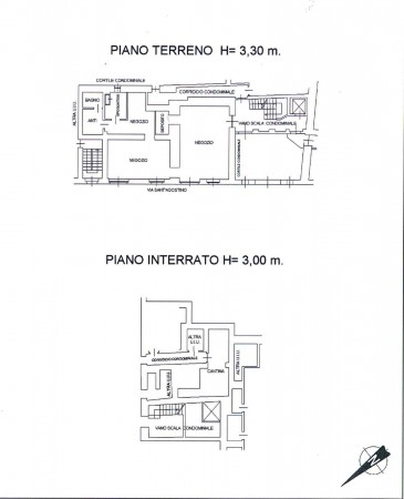 Locale Commerciale  in vendita a Torino, Arredato, 110 mq - Foto 2
