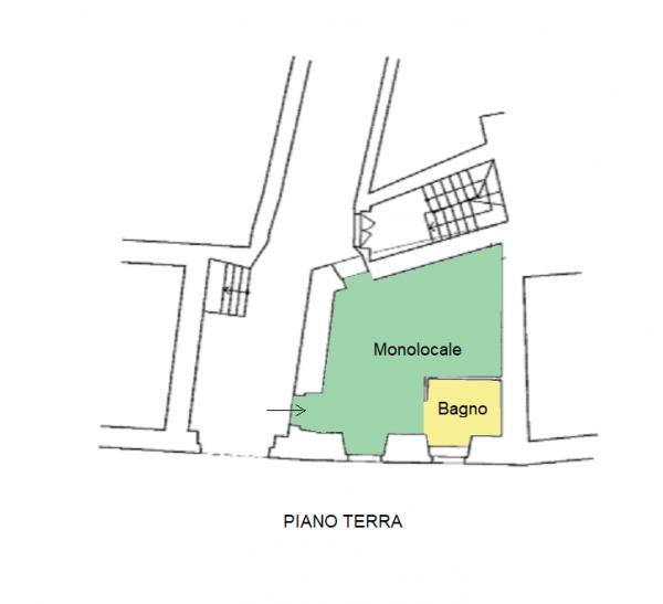 Monolocale in vendita a Foligno, Frazione, 30 mq - Foto 2