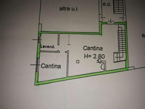 Appartamento in vendita a Cesate, Arredato, con giardino, 106 mq - Foto 2