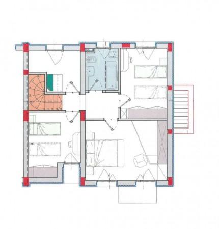 Villa in vendita a Borghetto Lodigiano, Residenziale, Con giardino, 169 mq - Foto 3