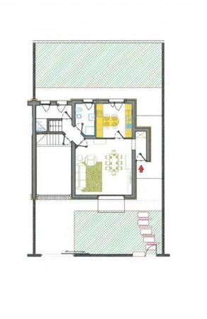 Villetta a schiera in vendita a Borghetto Lodigiano, Residenziale, Con giardino, 169 mq - Foto 3