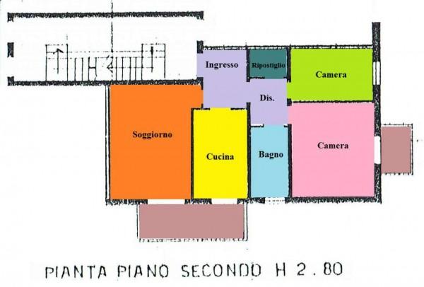 Appartamento in vendita a Padova, Voltabarozzo, Con giardino, 80 mq - Foto 2