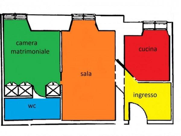 Appartamento in vendita a Roma, Flaminio, Con giardino, 55 mq - Foto 2